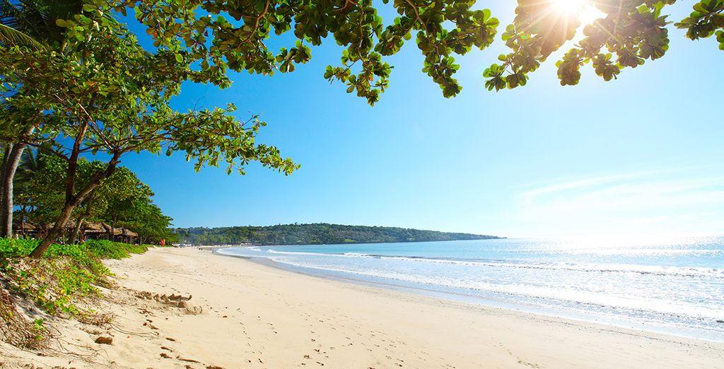 Ga daarna op weg naar de stranden van Jimbaran