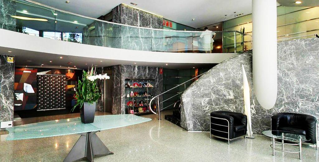 Geniet van uw reis naar Valencia in dit uitstekende hotel