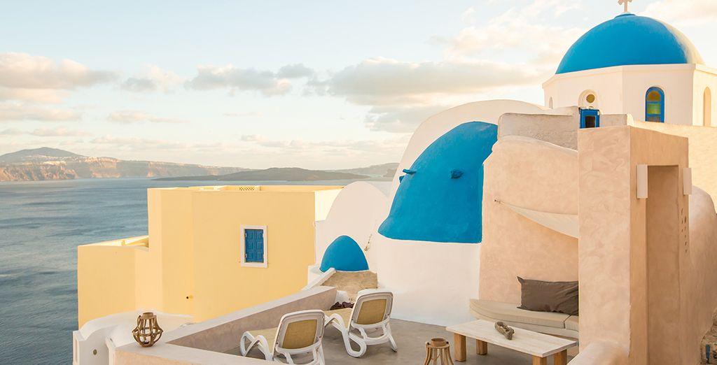 Ontdek een Grieks eiland met typische witgekalkte huisjes