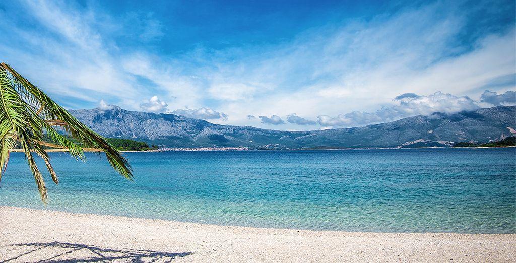 Richting Korčula !
