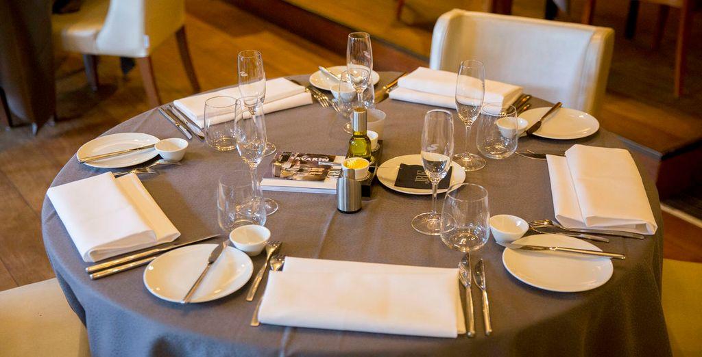 Restaurant Savarin staat bekend om zijn kookkunsten en gastvrijheid