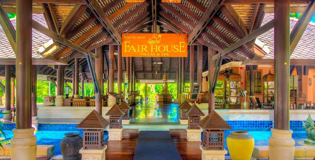 Bij het Fair House Villas & Spa Resort