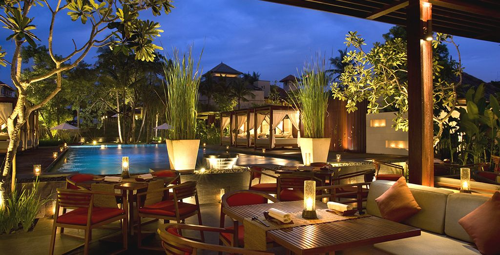 Proef van Balinese gerechten