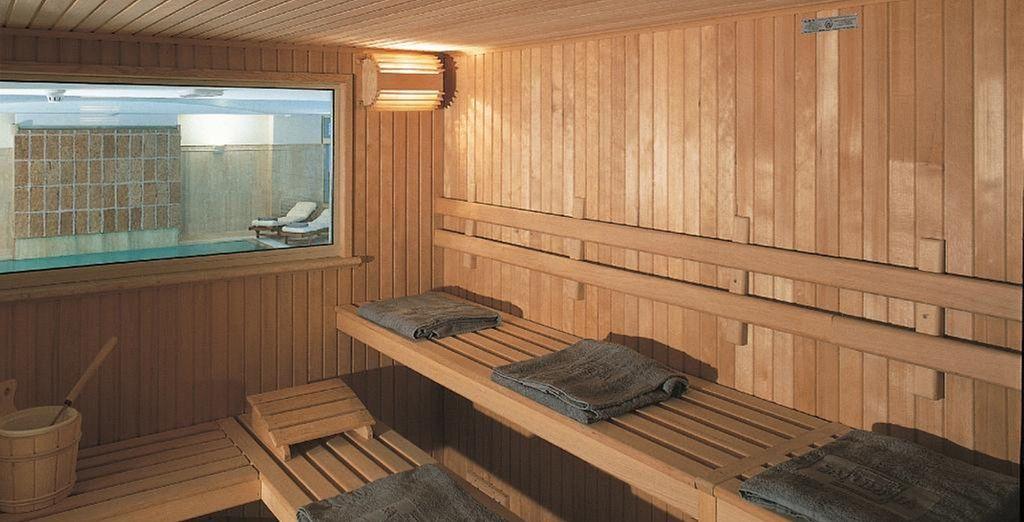 En ontspan in de sauna