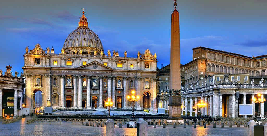 Veel plezier in Rome!
