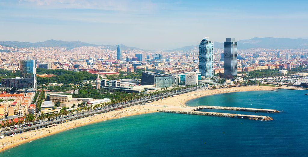 In het prachtige Barcelona!