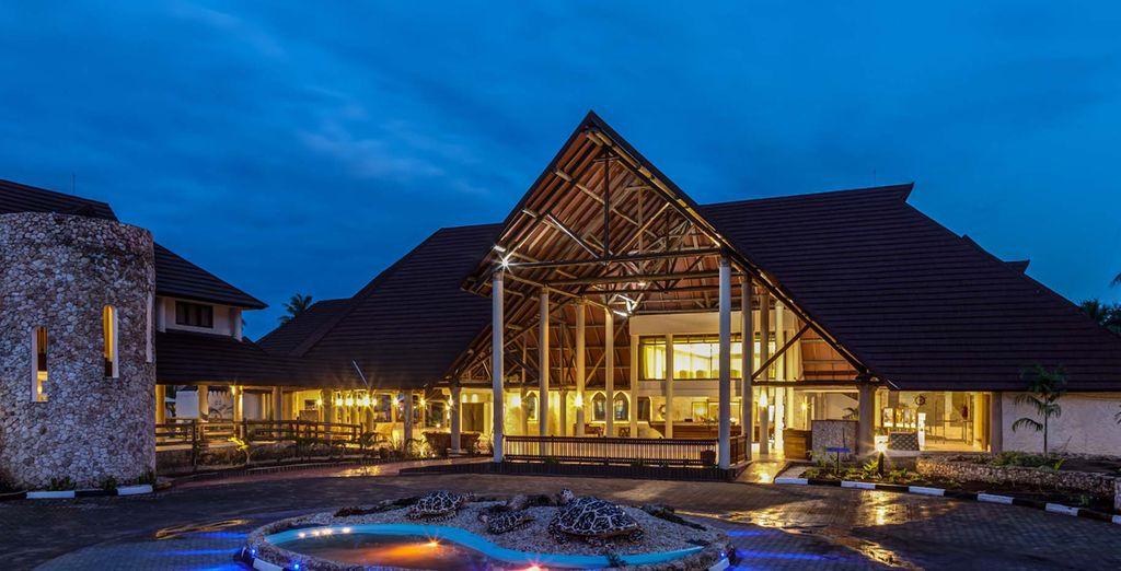 Welkom in het Amani Tiwi Beach Resort 5*!