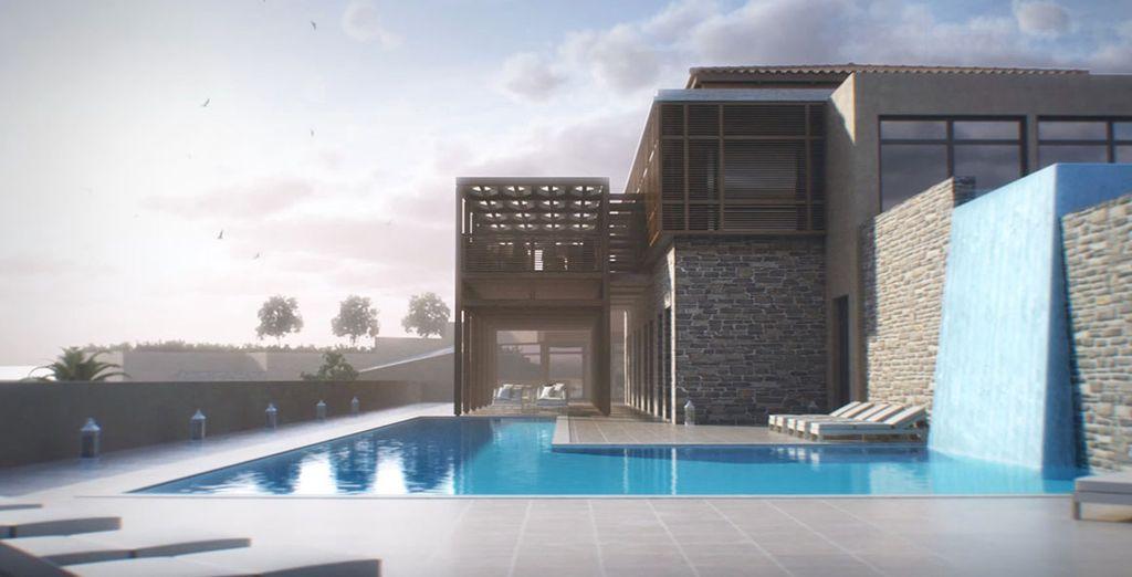 Maak gebruik van de schitterende faciliteiten zoals een binnen- en buitenzwembad