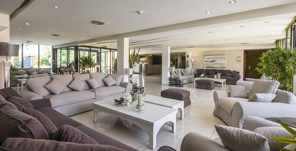 Een elegant en stijlvol hotel