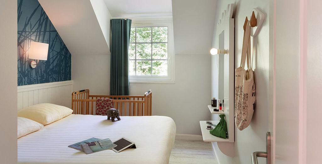 En comfortabele slaapkamers voor het hele gezin