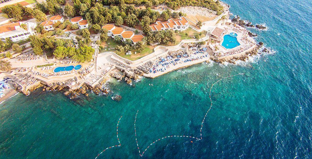 In het prachtige Montenegro