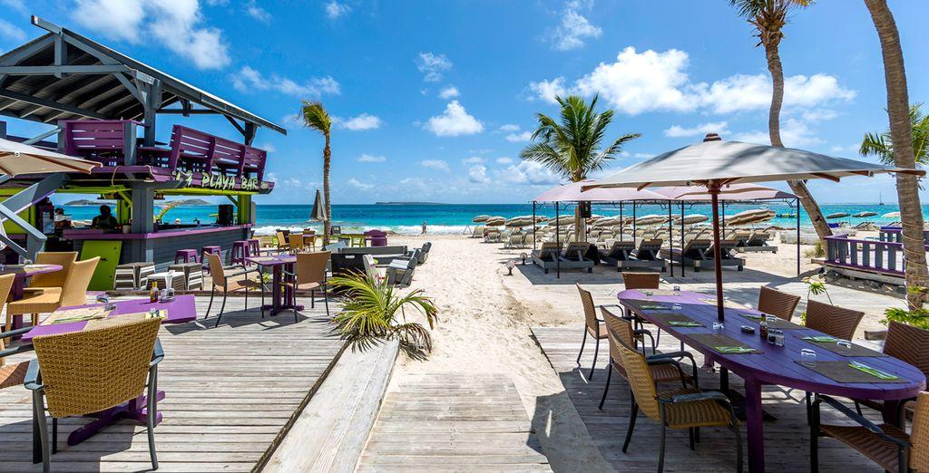 Waar u aan één van de mooiste stranden verblijft