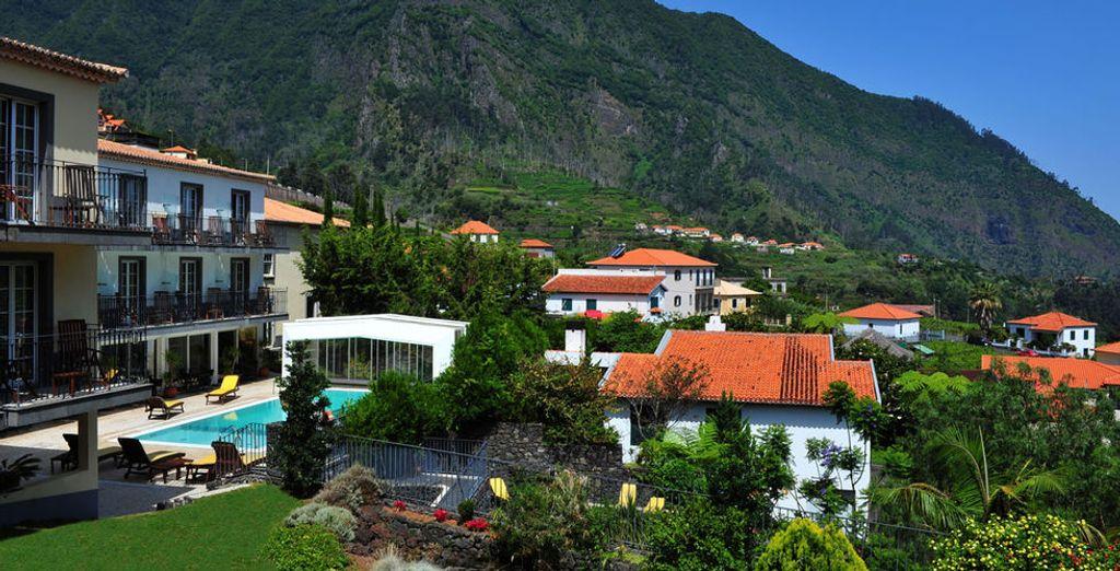 Een charmant hotel in een prachtige omgeving