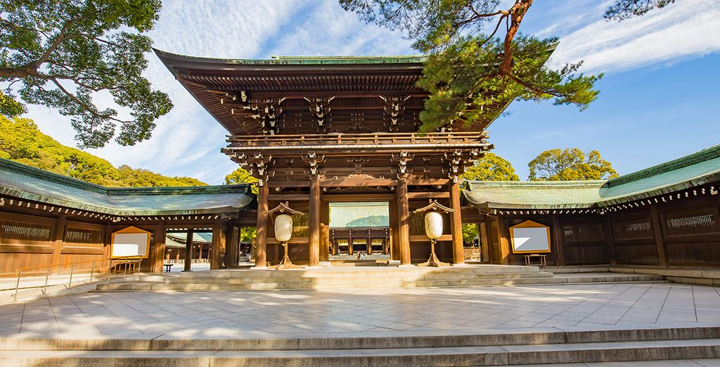 Met prachtige tempels