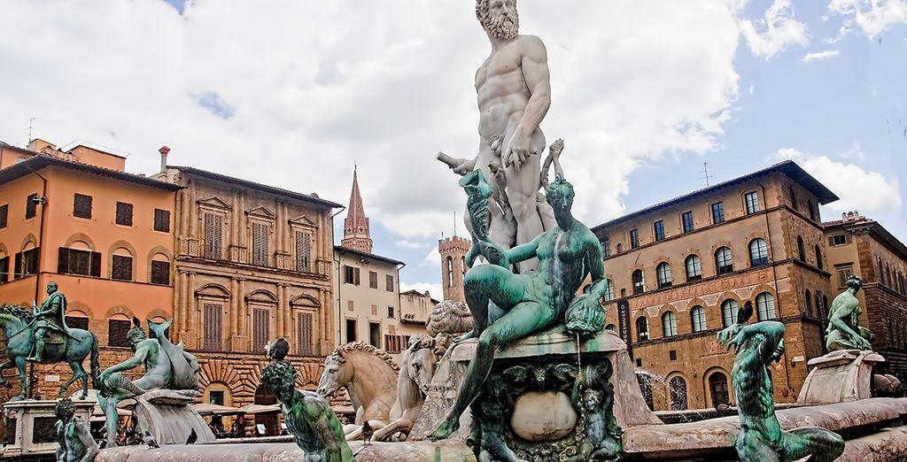 Bezoek de stad Florence