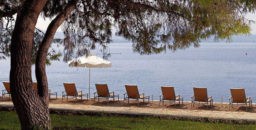 Aan de prachtige Griekse kust