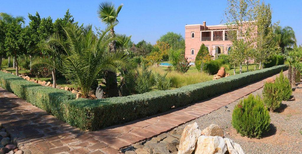 In het hartje van Marokko