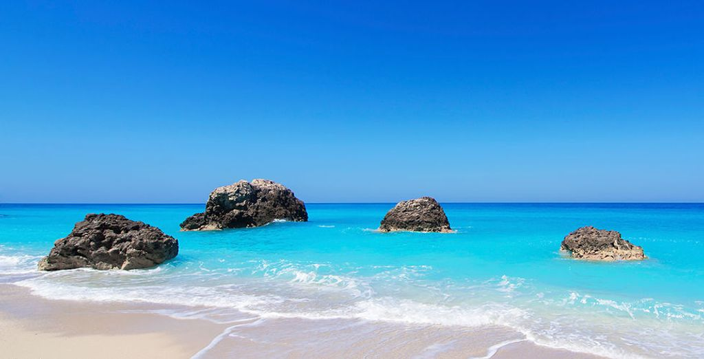 Of lekker luieren op één van de mooiste stranden
