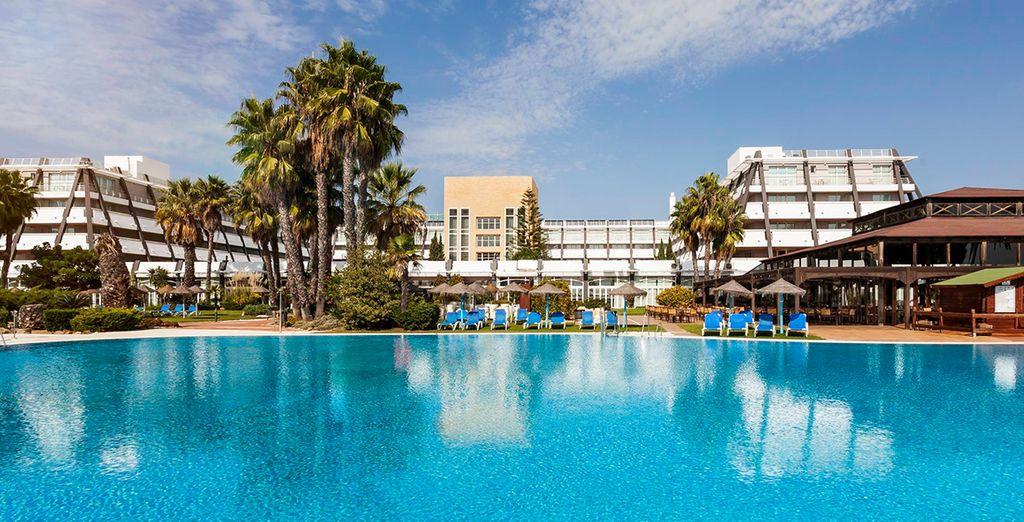 Welkom in het Ilunion Islantilla Hotel