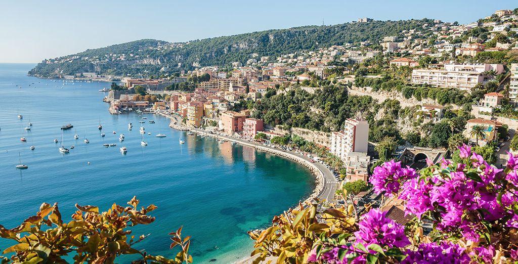 Verken richting de Côte d'Azur