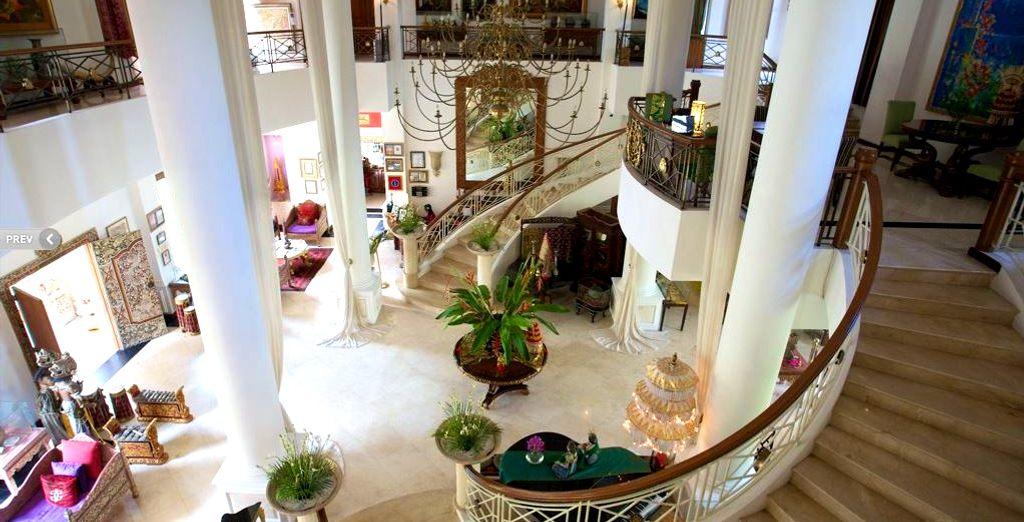 Dit schitterend hotel biedt comfort en rust