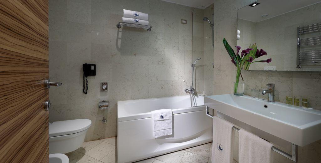 Dankzij de moderne inrichting en de comfortabele faciliteiten