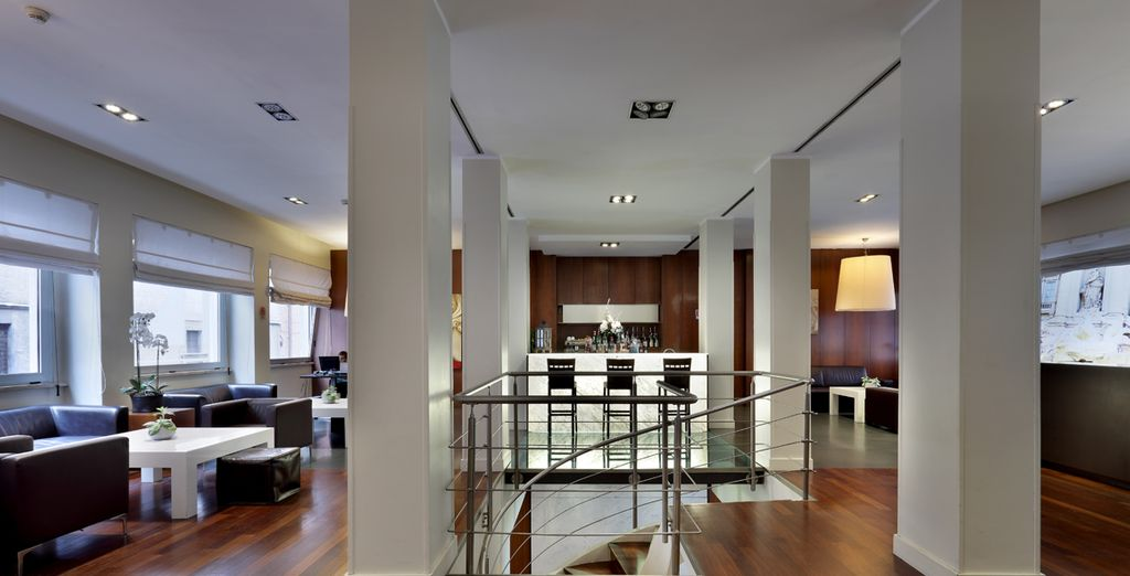 Een stijlvol modern hotel in de Eeuwige Stad