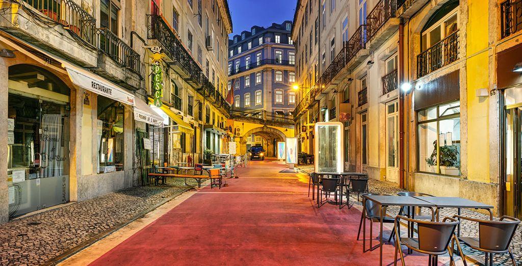 Gelegen in het hart van Lissabon