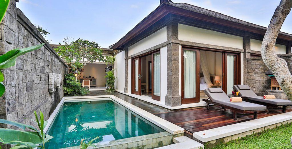 In Ubud verblijft u in een luxueuze Pool Villa