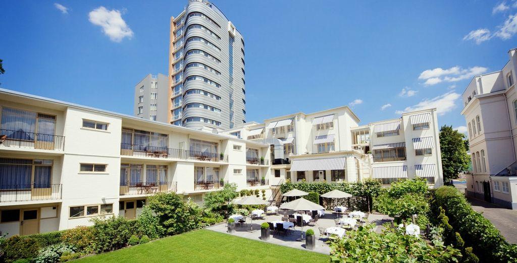 Uw hotel tijdens uw verblijf in Rotterdam
