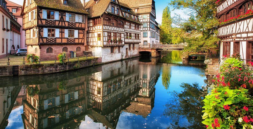 Een prachtige, betoverende stad op de grens met Duitsland