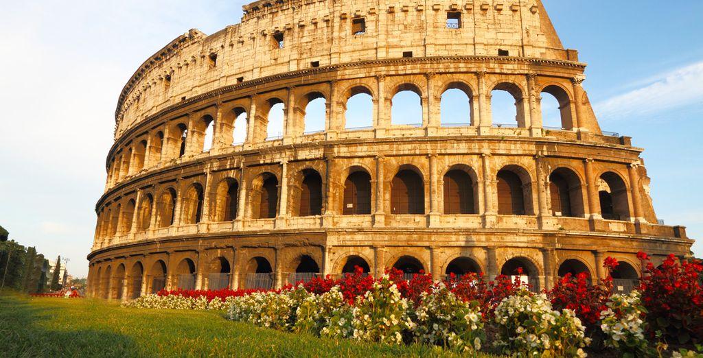 ... tot het Colosseum. Goede reis!