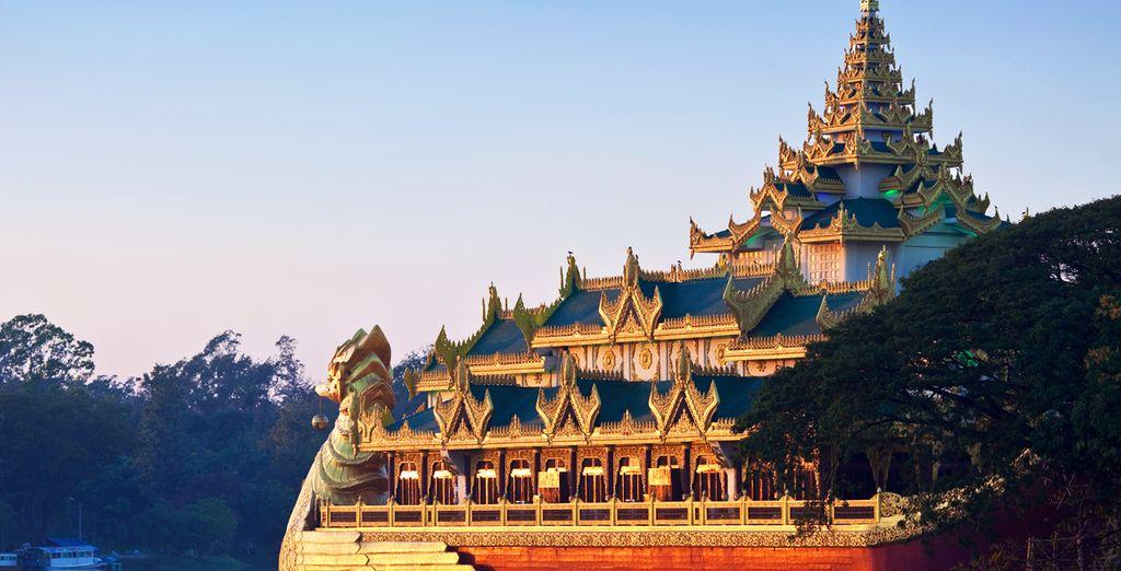 Het schitterende Myanmar