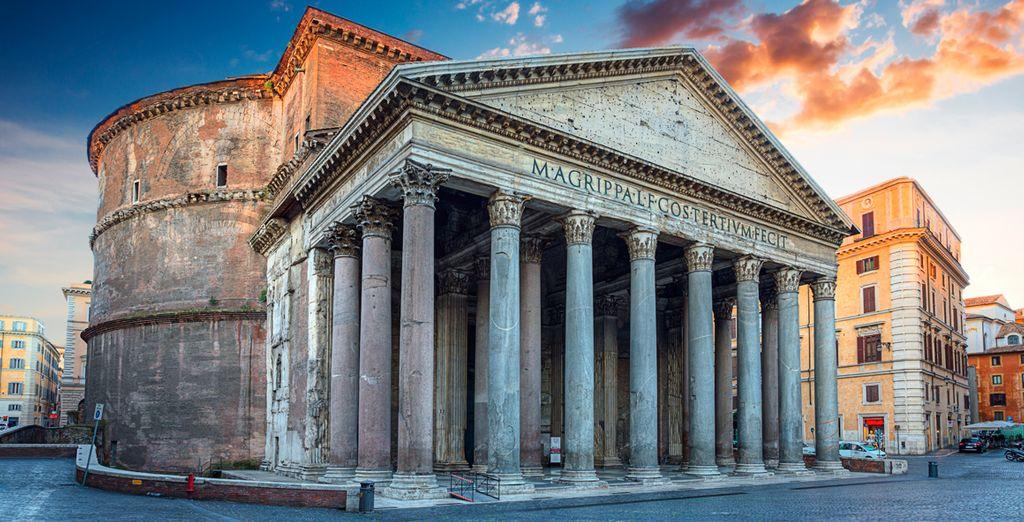 Bewonder het Pantheon