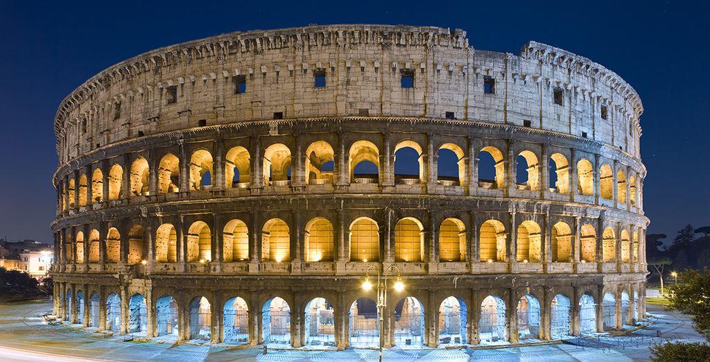 Ontdek het beroemde Romeinse Colosseum!