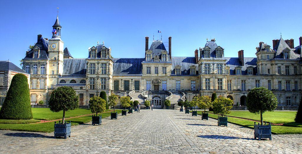 Er wacht u een revitaliserend verblijf in de buurt van Fontainebleau