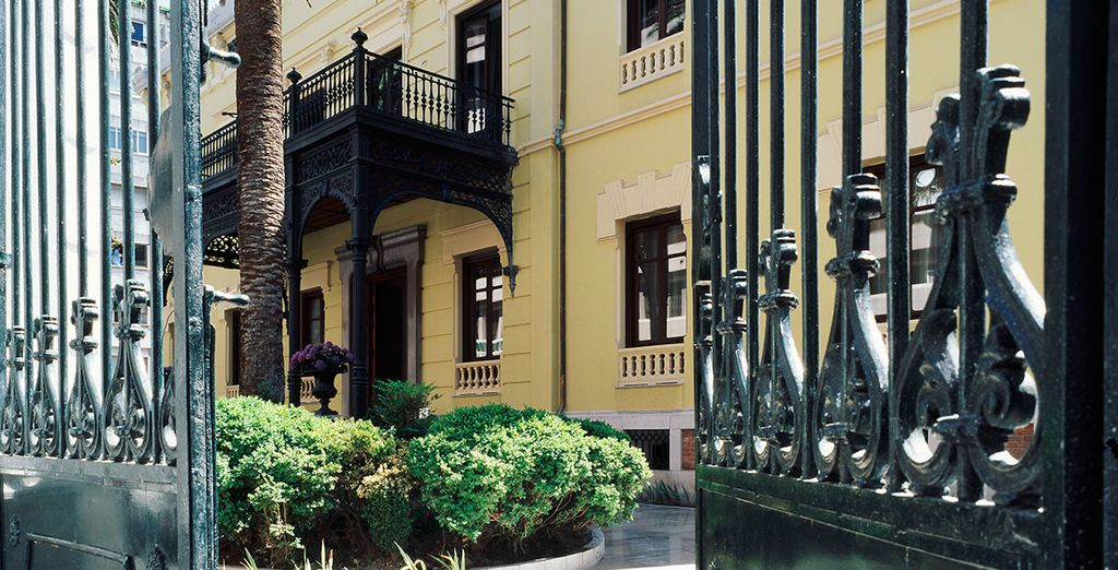 Gelegen in een negentiende-eeuws paleis