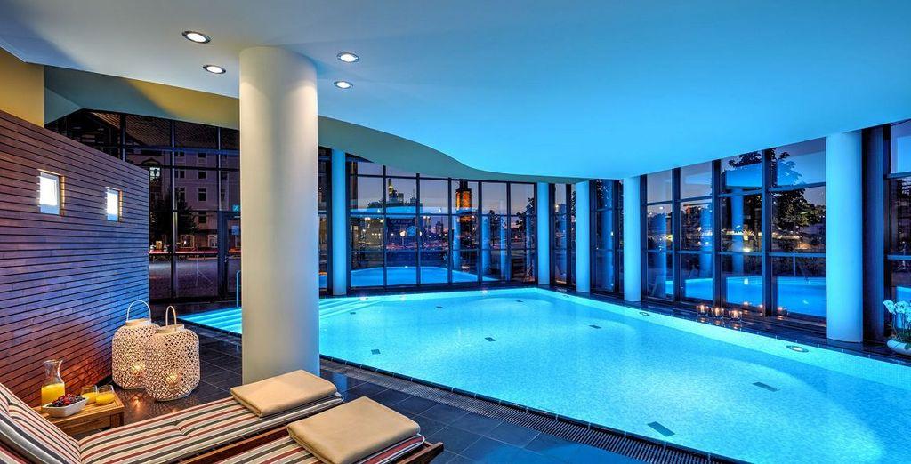 Met een fantastisch binnenzwembad
