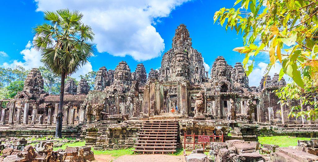 Bezoek de tempels van Angkor