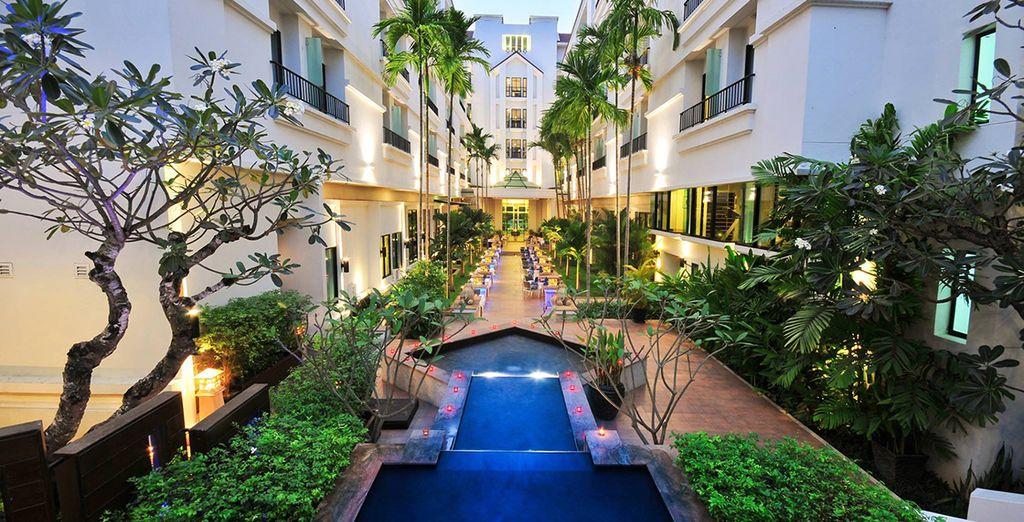 4* hotels...