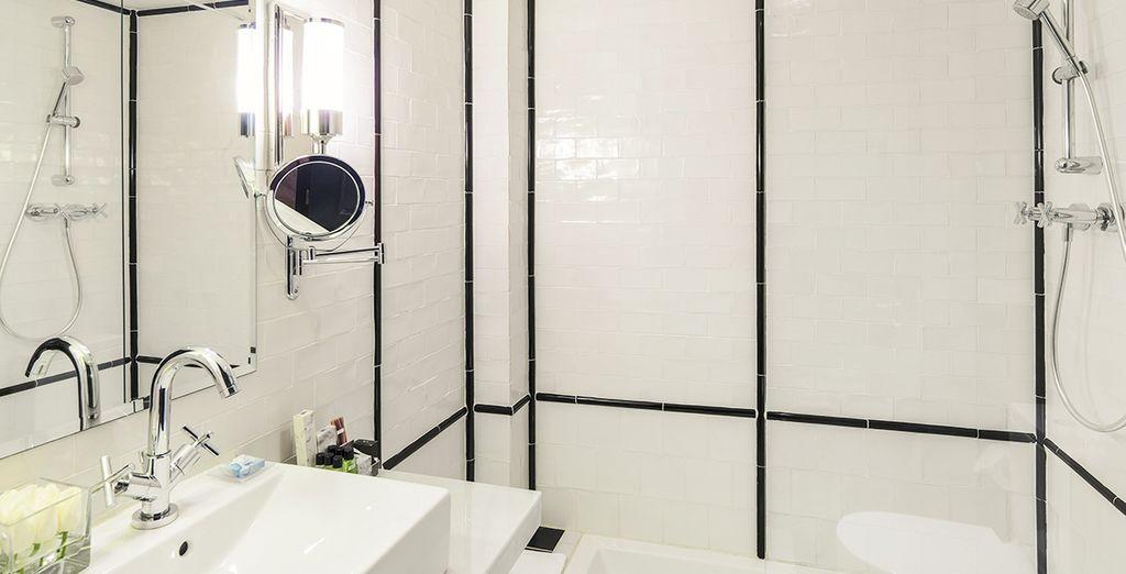 Met mooie badkamer