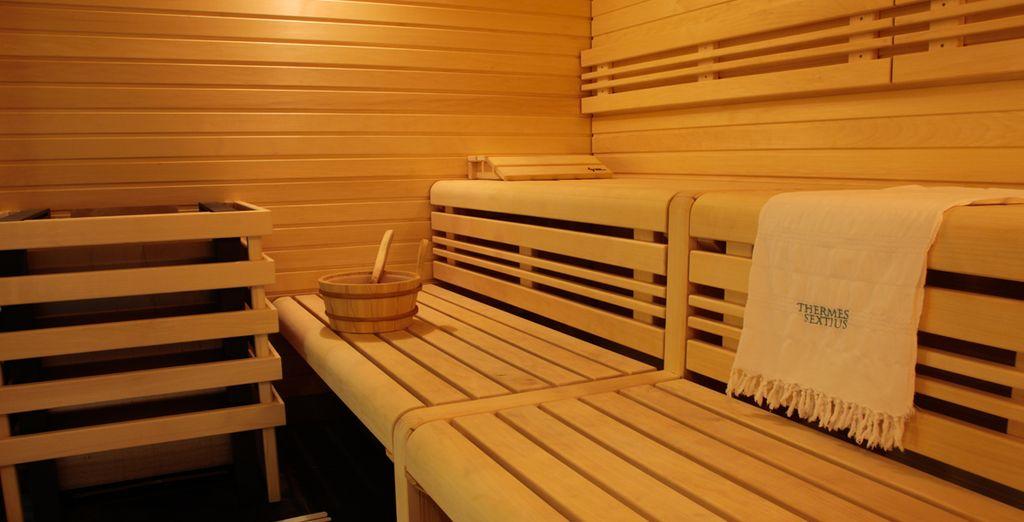 In de sauna of de hammam