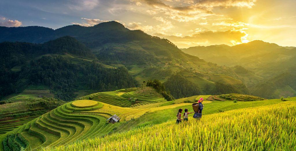Ontdek de mooiste landschappen van Vietnam in alle luxe!