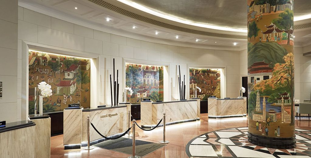 Waar het mooie hotel Melia wacht