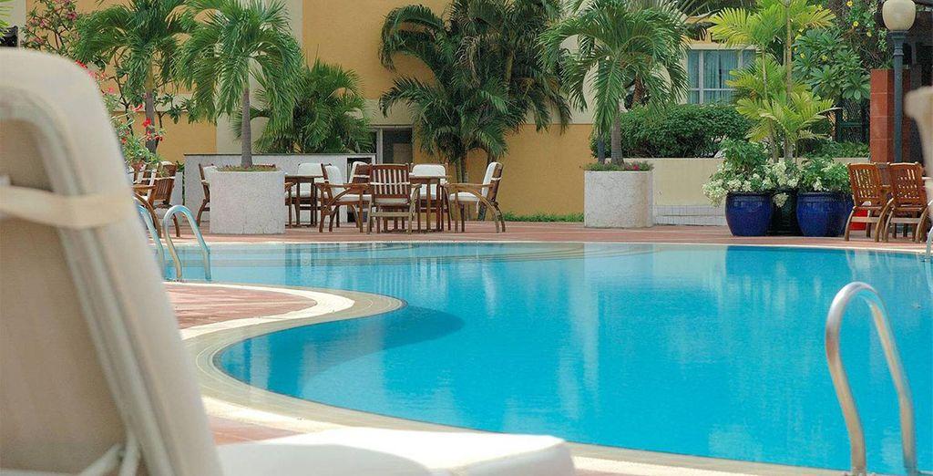 En waar u momenten van serene rust zal beleven bij het New World Hotel