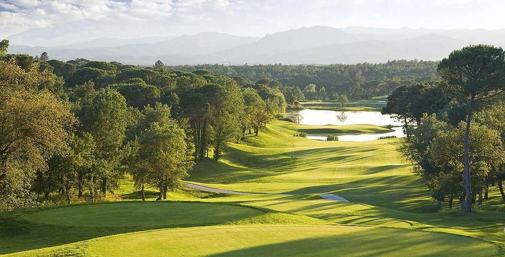 Vlakbij de prachtige PGA Catalunya golfbanen