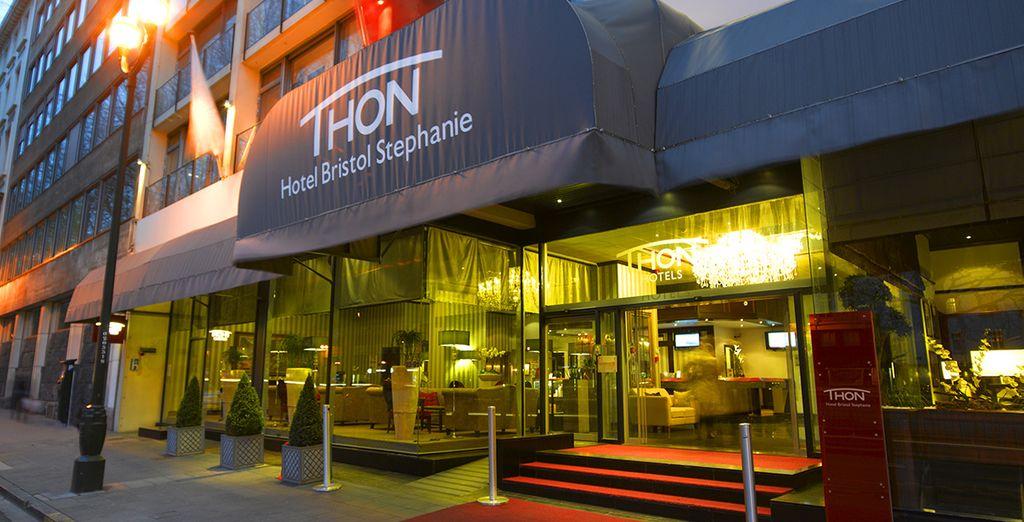 Welkom in het Thon Hotel Bristol Stephanie 4*