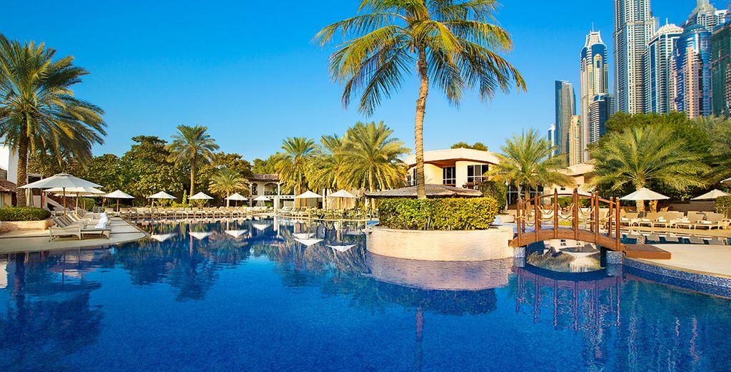 Welkom in het  Habtoor Grand Beach Resort & Spa 5*