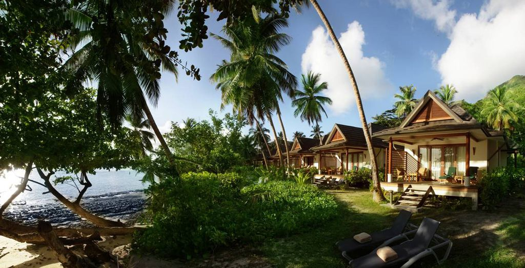 Waar u verblijft in een prachtige Villa aan het strand