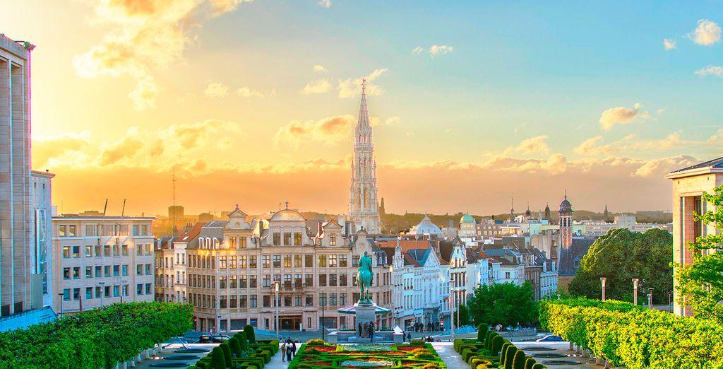 In de gezellige Belgische hoofdstad
